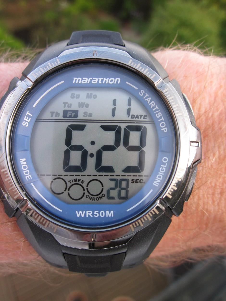 Meine Triathlonuhr